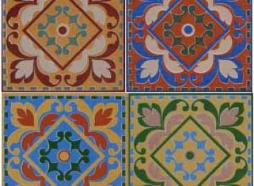 Cerâmica com visual de ladrilho