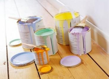 Balança comercial do setor de tintas