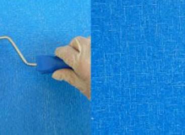 Pintura com efeito jeans