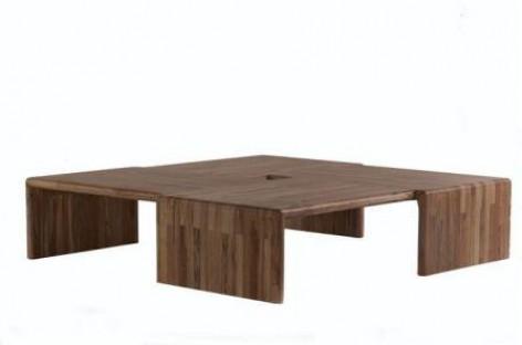 O charme dos móveis de madeira