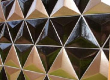 Cerâmicas com jogo de luz e sombras
