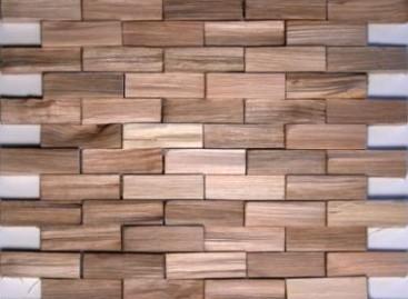Pastilhas de madeira reciclada
