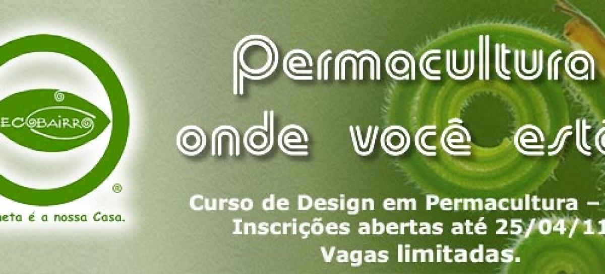 Curso de Design em Permacultura