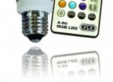 LED com controle remoto