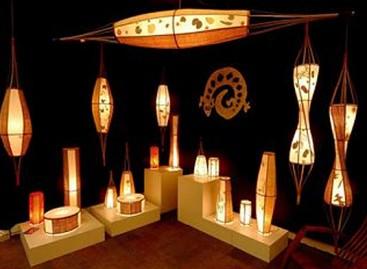 Luminárias Artesanais Bambhoo