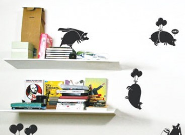 Adesivos decorativos ecológicos