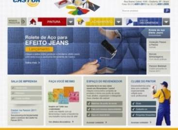 Castor apresenta novidades em seu site