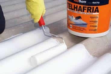 Impermeabilizante de telhas de amianto