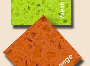 Technistone® em cores vibrantes