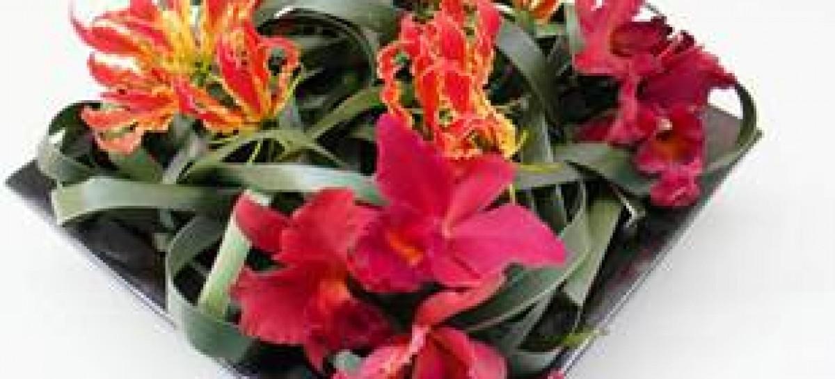 Arranjos florais personalizados