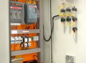 A instalação elétrica de cozinhas