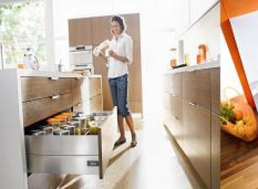 Tecnologia e praticidade na cozinha