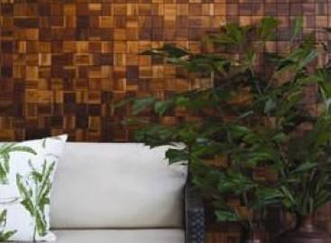 Mosaico de madeira