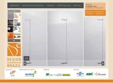 Novo site do Programa Design Excellence Brazil