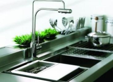 Misturadores com saída para água filtrada