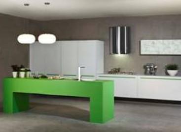 Cozinha descolada com porta de murano