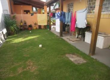 Transformação do quintal dos fundos em área de lazer