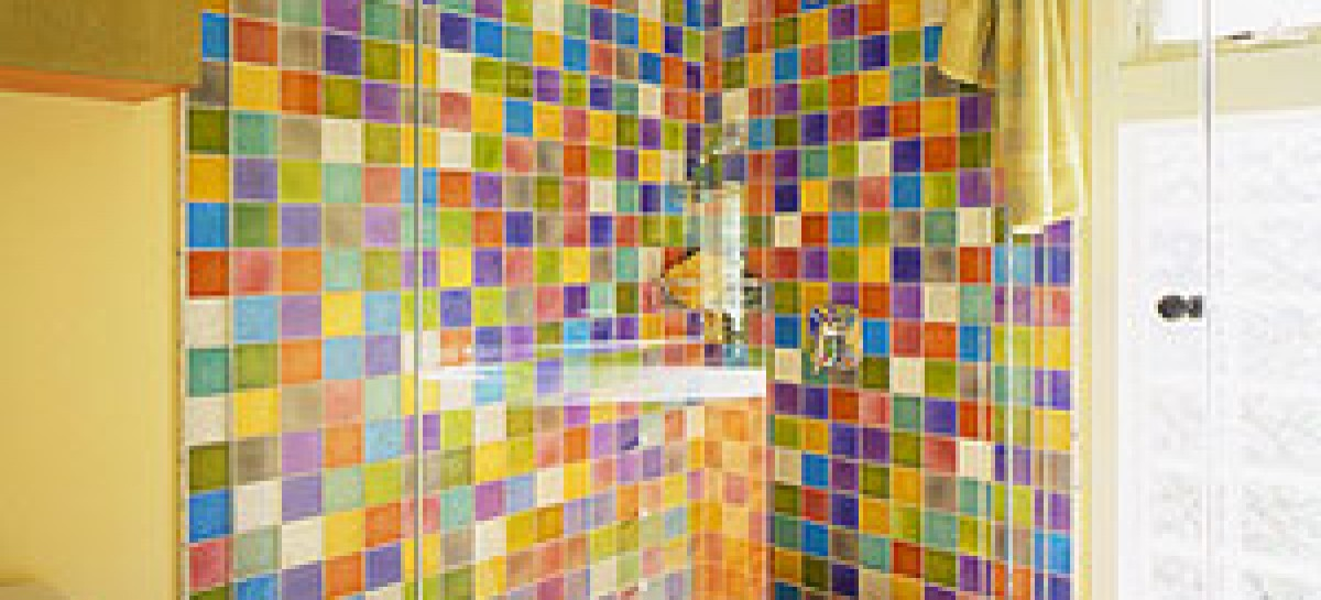 12 Banheiros coloridos