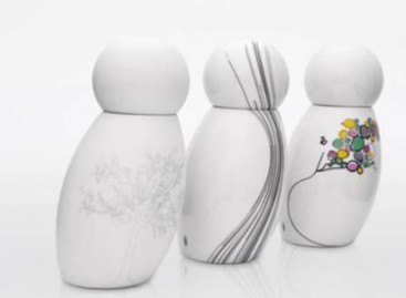 Moringas de porcelana