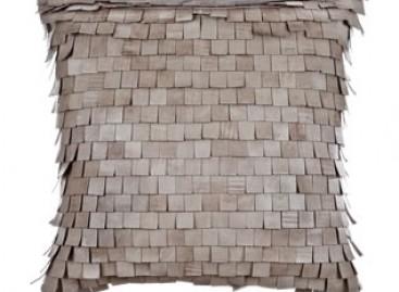Almofada de couro