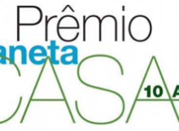 Prêmio Planeta Casa tem inscrições prorrogadas