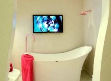 Banheiro Feminino na Casa Hotel