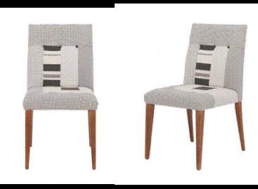 Cadeira com patchwork