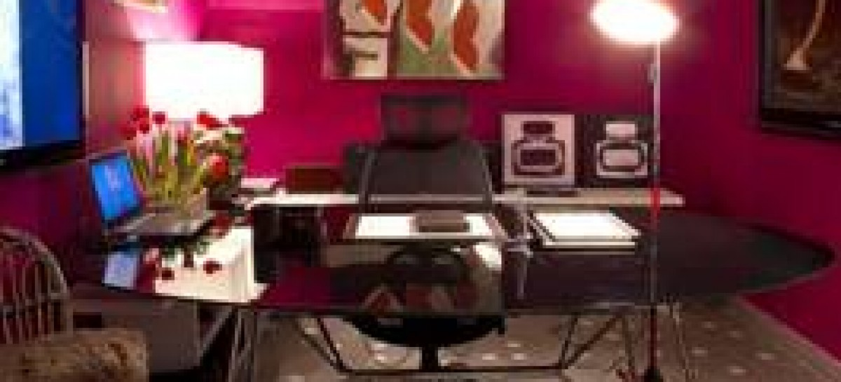 Mix de estilos no Home office