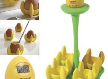 Para cozinhar ovos