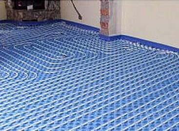 Aqueça o piso durante o inverno