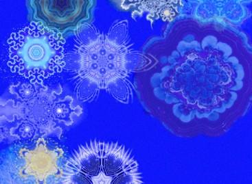 Decore com o azul intenso