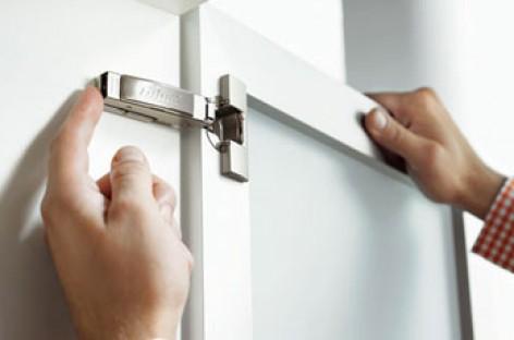 Abertura de portas com apenas um toque