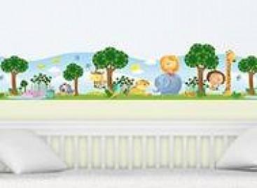 Adesivos de parede para o quarto das crianças