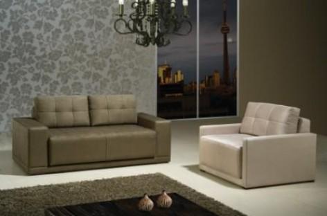 Um sofá-cama moderno