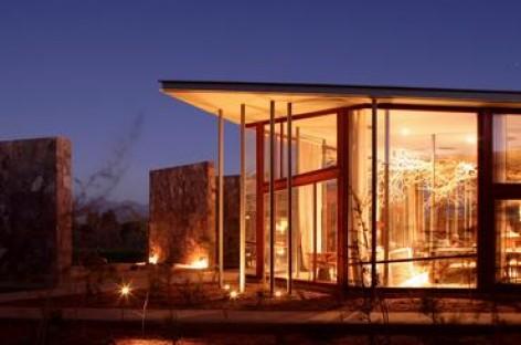 A arquitetura do Tierra Atacama Hotel & Spa