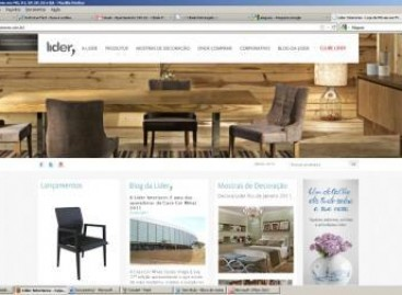 Novo site da Lider Interiores