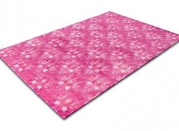 Tapete cor-de-rosa