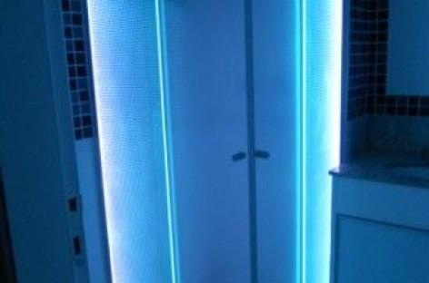 Box com LED