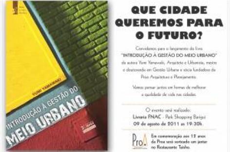 """Livro """"Introdução à Gestão do Meio Urbano"""""""