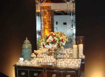 Espelhos na decoração de eventos