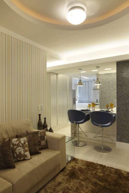 Reforma de apartamento com praticidade.