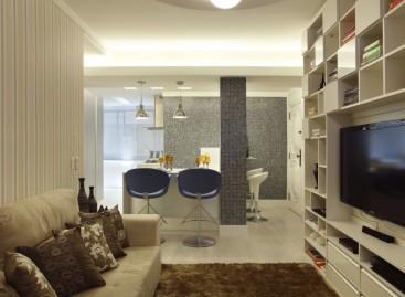Reforma de apartamento com praticidade
