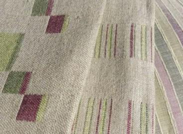 Novos tecidos de linho