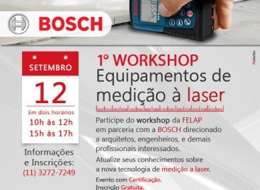 1º Workshop – Equipamentos de medição à laser