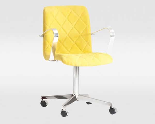 Cadeira de escritório Matelassê - ObraVip.com