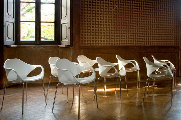 Linha de cadeiras Nina - Cinex