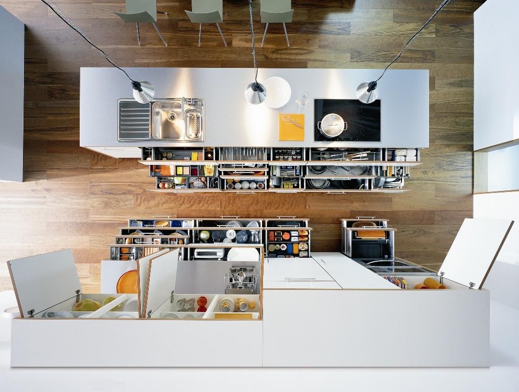 Conceito de Dynamic Space - Modelo de cozinha