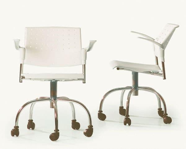 Cadeira de escritório giratória com braço Movie - ObraVip.com