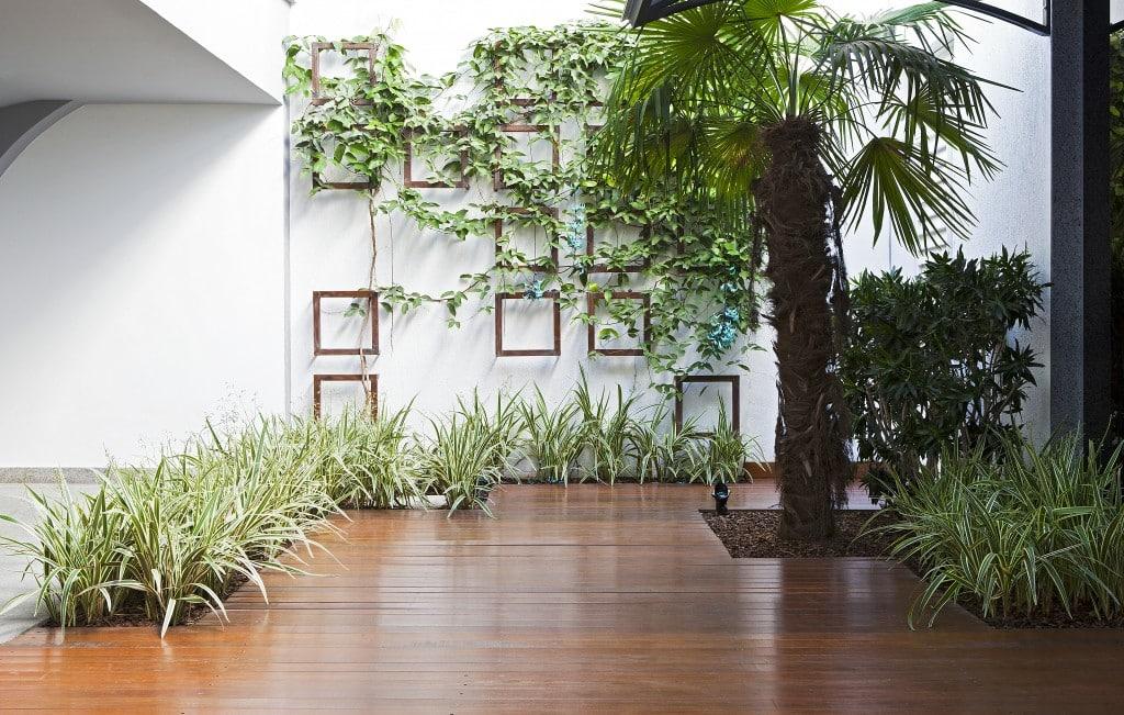 Decoração corporativa com muito verde inova o ambiente