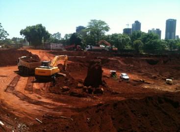 Construção Victória Parque: condomínio vertical teve suas obras iniciadas